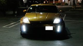 iJDMTOY 03-05 Nissan 350z Switchback LED Daytime Running Lights/Turn Signal Lamps
