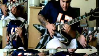 Rod Stewart - Rhythm Of My Heart - instrumental guitar cover - with lyrics - by ( Kenny Giron ) kG
