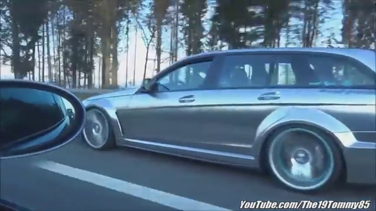 All Types amg black series wheels : Mercedes C63 AMG Black Series (T-Model) on Vossen Wheels ...