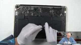 Чистка от пыли и замена термопасты на MacBook Air A1369 2011(, 2015-06-07T10:30:45.000Z)