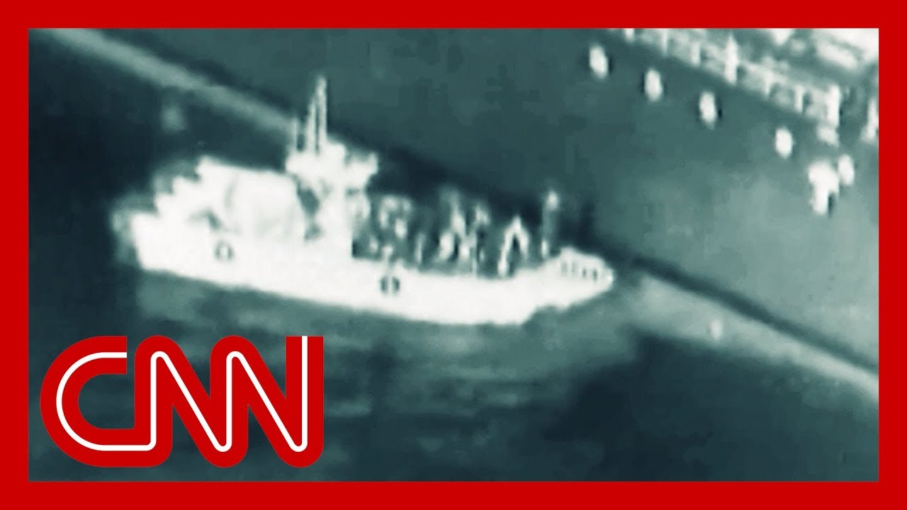CNN:US: Video shows Iran removing unexploded mine from tanker