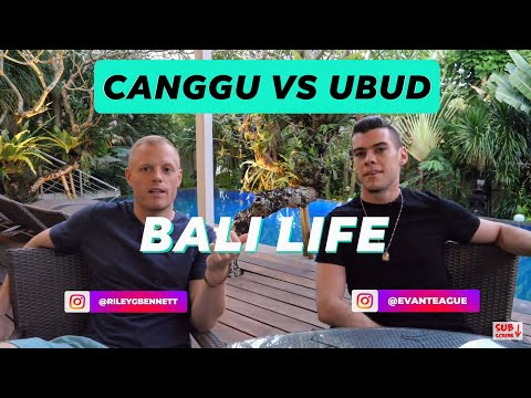CANGGU Vs UBUD: What's The Vibe 🌴 BALI (Cost Of Living, Work Cafes, Food, Gyms, Nightlife Etc.) 🎙