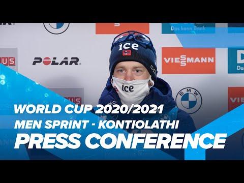Kontiolahti Men Sprint 2 Press Conference
