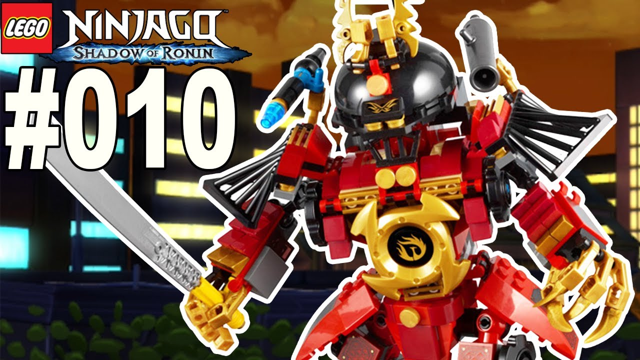 Lego Ninjago Schatten Des Ronin 010 Nyas Samurai Mech Lets Play