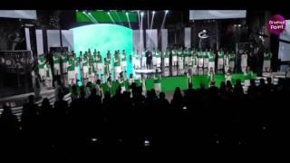 16th Lux Style Award Atif Aslam Qaumi Tarana  ( National  Anthem )