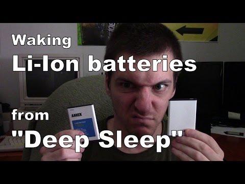 Revive cellphone batteries from Deep Sleep
