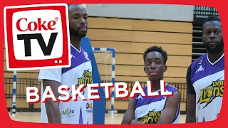 Manny's Basketball Challenge w/ London Lions | #CokeTVMoment