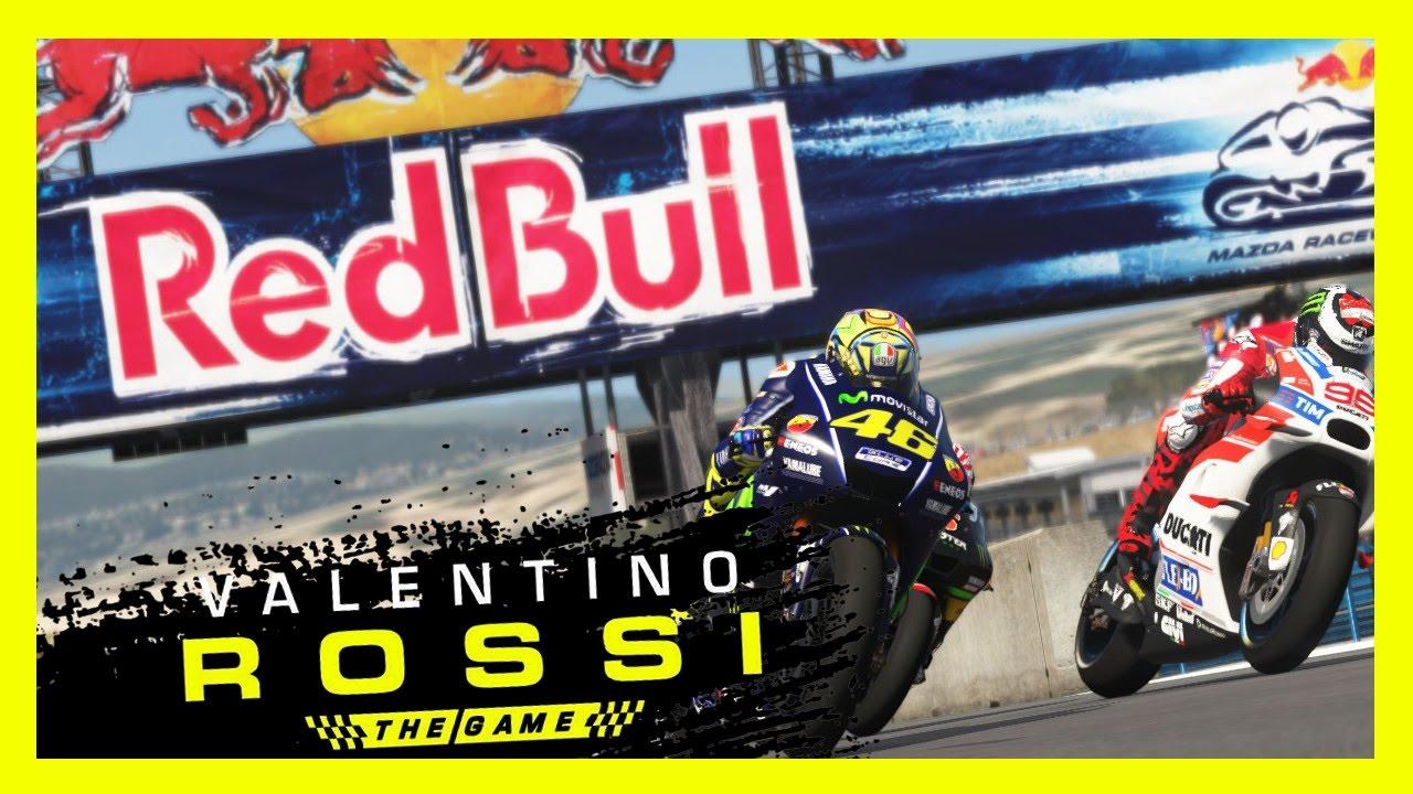 MotoGP 2017 MOD - Laguna Seca Rennen - Valentino Rossi Gameplay - YouTube