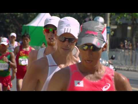 Men's 50km race walk |Athletcis |Rio 2016 |SABC