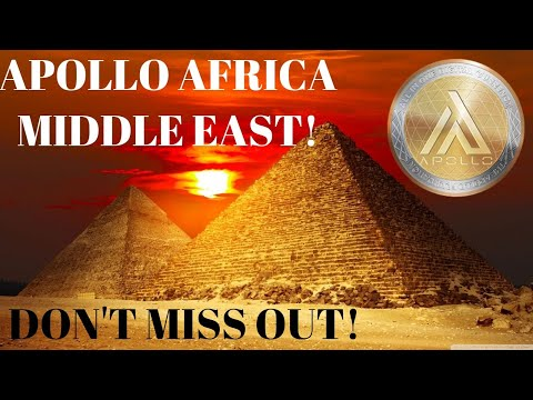 CRYPTO NEWS:APOLLO CURRENCY VOLUME GROWING FAST! APOLLO MIDDLE EAST WILL ASTOUND!