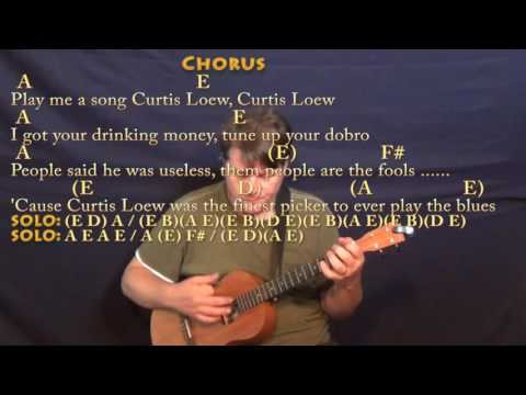 The Ballad Of Curtis Loew Ukulele Chords By Lynyrd Skynyrd Worship