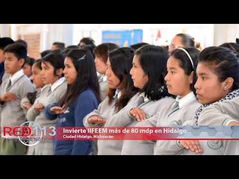 VIDEO Invierte IIFEEM más de 80 mdp en Hidalgo