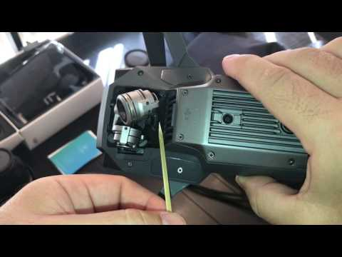 DJI Mavic Gimbal Vibration Error