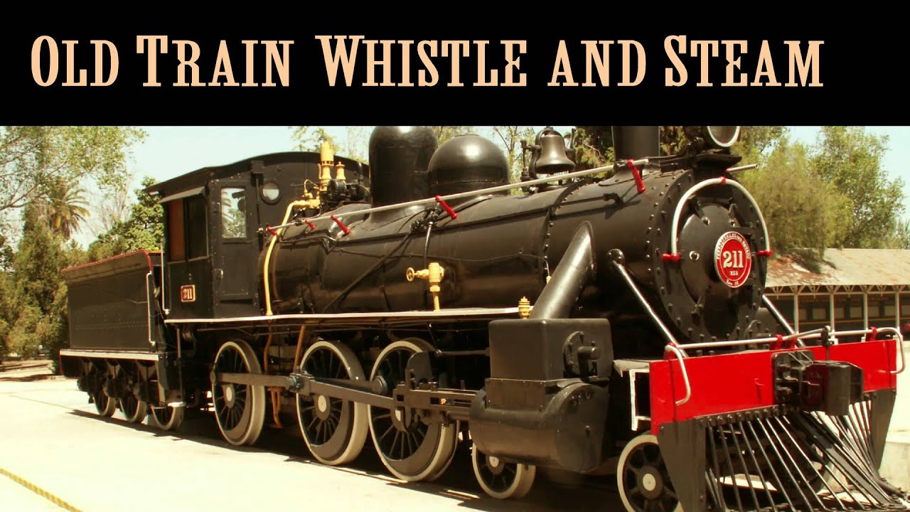 Old Train Whistle and Steam Train Sound Effects - YouTube