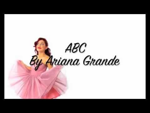 ABC- Ariana Grande (Lyrics Video)