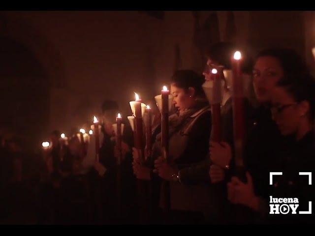 VÍDEO: La intimidad del Solemne Vía Crucis de la Familia de la Cofradía de la Sangre