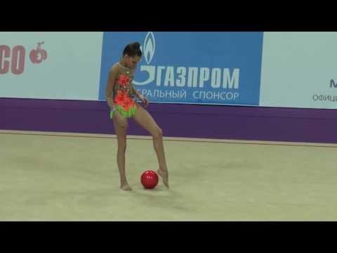 Аверина Дина, мяч, Гран-При, Москва, 2014, Grand-Prix, Moscow