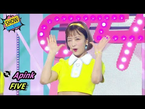 [Comeback Stage] APINK - FIVE, 에이핑크 - 파이브 Show Music core 20170701