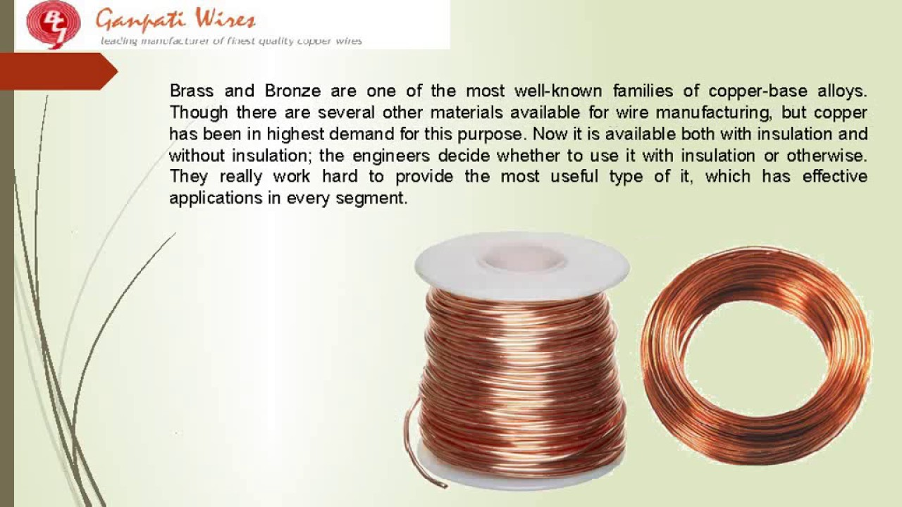 Everything you need to know about bare copper wire! - YouTube