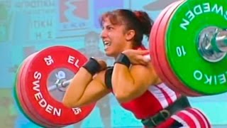 2002 European Weightlifting Championships, Women 75 kg \ Тяжелая Атлетика. Чемпионат Европы