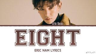 Eric Nam 'Eight' Cover Lyrics