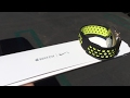 Apple Watch Nike Sport Band Black Volt released March 2017