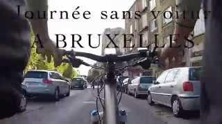 Journée sans voiture a BRUXELLES 2014