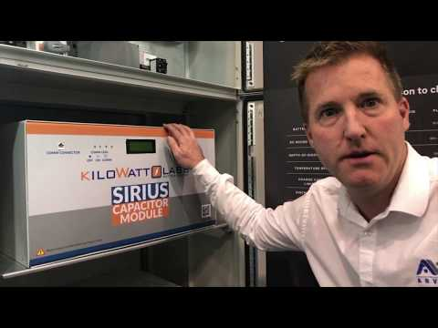 "All-Energy 2017 Arvio's ""Independence Day"" super capacitor hybrid inverter system"