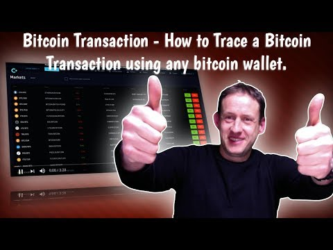 Bitcoin Transaction - How To Trace A Bitcoin Transaction Using Any Bitcoin Wallet.