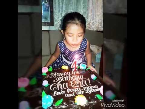 Chacha's 4th Birthday