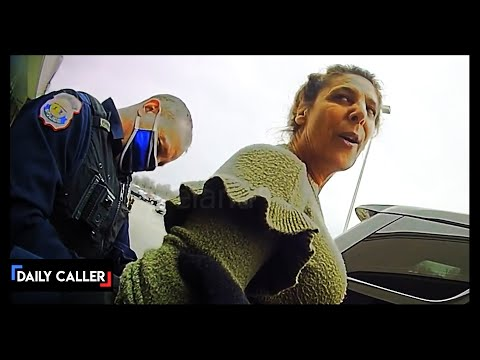POLICE BODYCAM: Woman Who Refuses Mask Arrested
