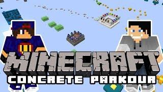 Minecraft Parkour: Concrete Parkour #1 w/ Undecided