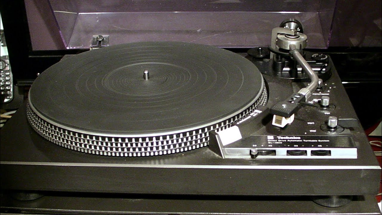 Technics Sl1900 Review Youtube