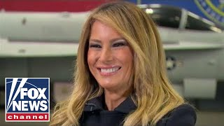 Melania Trump talks to Hannity in Part II Exclusive