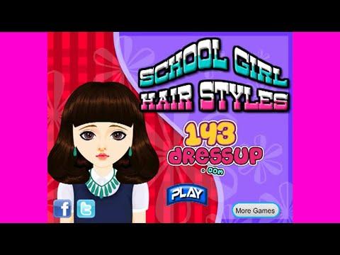 School Girl Haircuts Games Hair Games Girl Games By DreamWorks Children Games