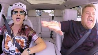 First Look At Bruno Mars' EPIC Carpool Karaoke With James Corden