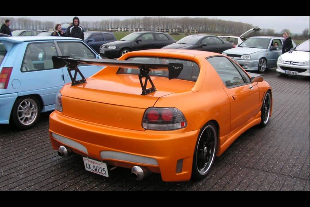 honda crx del sol tuning cars youtube. Black Bedroom Furniture Sets. Home Design Ideas