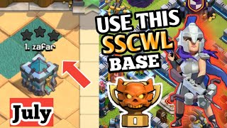 TH13 CWL Base With Link! July 2020 Town Hall 13 Anti 1 Star War Base!!   Md Clash of Clans  