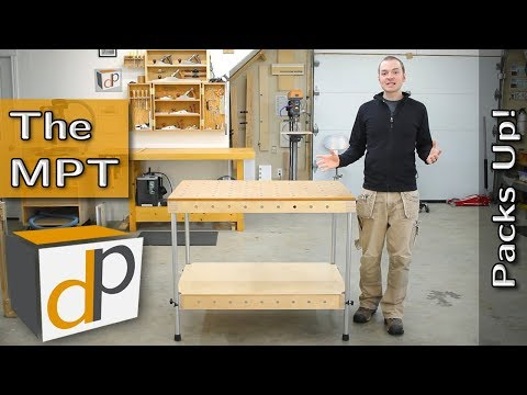 The Multi Purpose Table (MPT) - A Portable, MFT Style Work Table
