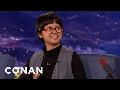 Sri Lankans Keep Mistaking Charlyne Yi For A Man  CONAN on TBS