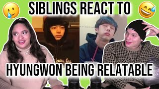 Download Siblings react to MONSTA X's Hyungwon being relatable.  REACTION 🐢😂