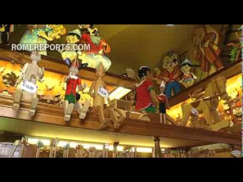 Rome wood shop brings Pinocchio story to life