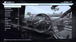 Project Cars Thrustmaster T300 RS Wheel Settings PS4