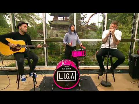 L.I.G.A - 'Du Er Ikke Alene' LIVE i Go'morgen Danmark