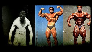 Evolution of Bodybuilding FROM 1884 TO 2017