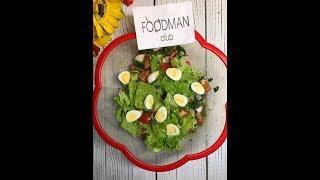 Весенний салат с перепелиными яйцами и пастой песто: рецепт от Foodman.club