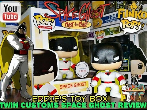 Funko Pop Custom Space Ghost Coast To Coast Space