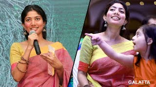 Sayyesha on the sets of Diya | Diya Making Video | Sai Pallavi