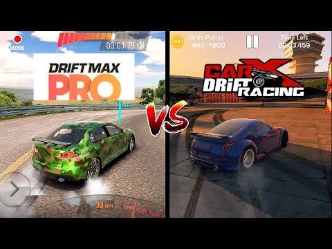 Car X Drift Racing VS  Drift Max Pro Perbandingan . Mana Yang Terbaik?