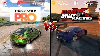 Car X Drift Racing VS Drift Max Pro Comparison. Which one is best?